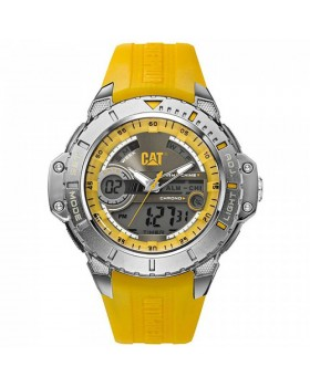 Ρολόι Ανδρικό Caterpillar ANADIGIT Grey/Yellow - Yellow rubber MA.155.27.137