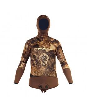 Beuchat Rocksea Jacket 5 mm Brown