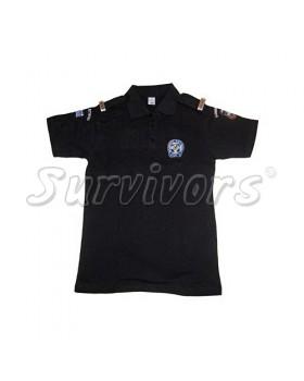 Survivors- Μπλουζάκι «Πολο» με επωμίδες