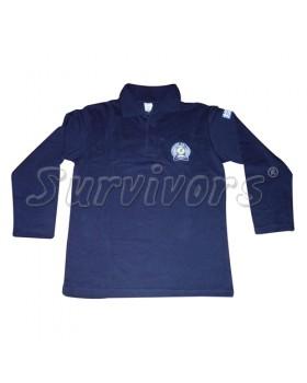 Survivors- Μπλουζάκι ΠΟΛΟ μακρύ μανίκι με κέντημα (Αστυνομίας)