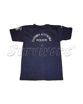 Survivors- Μπλουζάκι μακό με κέντημα (Αστυνομίας)
