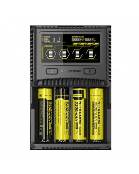 Nitecore SC4 LCD Display USB Rapid