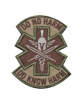 Mil-Spec Monkey Κεντημένο Σήμα Do No Harm Spartan Multicam (Velcro)