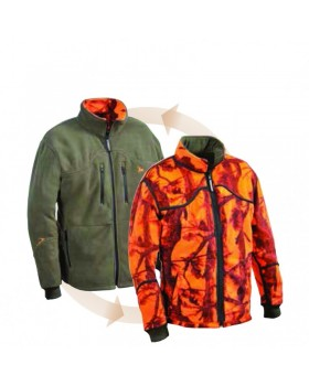 Jacket Verney Carron Reversible Fleece Double Face PHP0002