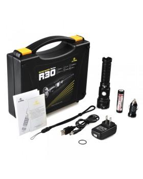 Xtar R30 Επαναφορτιζόμενος Φακός LED φωτεινότητας 1000lm Full Set