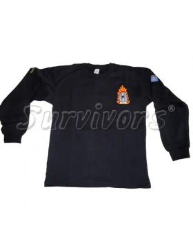 Survivors- Φούτερ βαμβακερό 100% με κέντημα Πυροσβεστικής