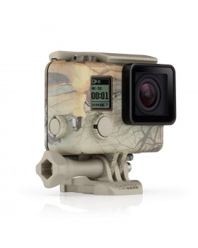 GoPro Hero4 Camo Housing + Quickclip (Realtree MAX-5)