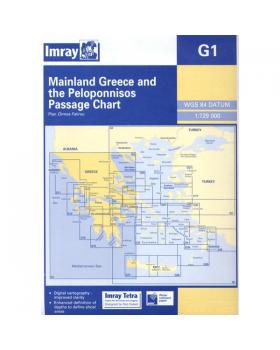 Ναυτικοί Χάρτες Imray Για Λέσβος & Ακτές Τουρκίας