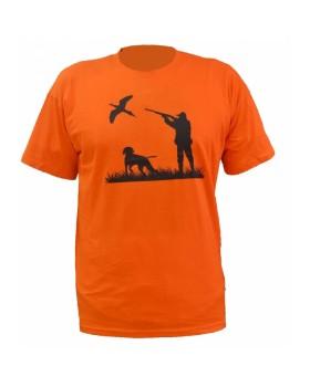 Μπλουζάκι Zark Hellas Πορτοκαλί Με Στάμπα 000.04Α