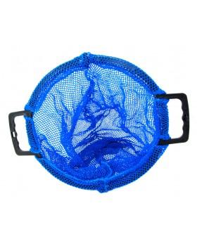 Δίχτυ μεταφοράς Μπλε με πλαστική χειρολαβή