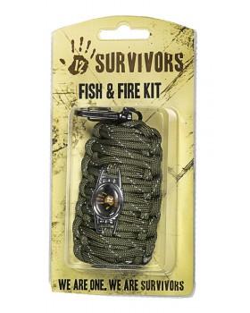 12 Survivors Fish & Fire kit