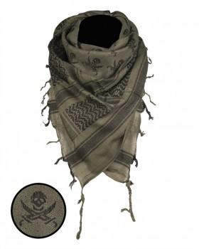 Μαντήλι Παλαιστίνης OD Skull Mil-Tec