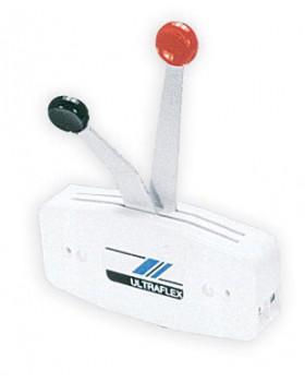 Χειριστήριο Ultraflex Διπλό Για Εξωλέμβιες