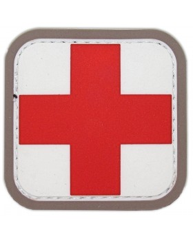 Mil-Spec Monkey Διακριτικό PVC Σήμα Medic Square Medical 2.5cm (Velcro)