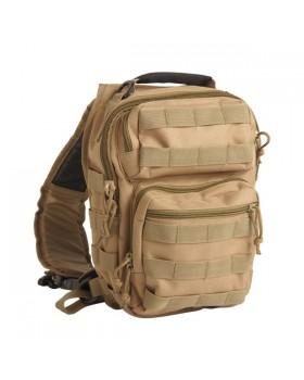 Mil-Tec-Τσάντα Πλάτης Tactical One Strap Assault Pack - Μπεζ Άμμου