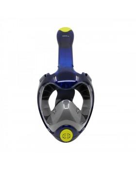 NEOpine Full Face Μάσκα Snorkeling D-3 L/XL (Μπλε)