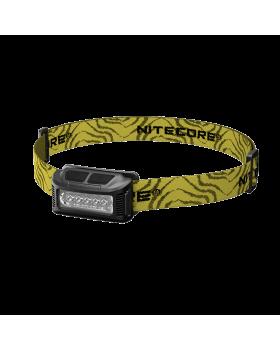 Φακός Κεφαλής Led Nitecore NU10 Black+Yellow Headband