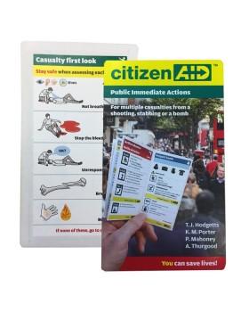Οδηγός Τσέπης Αντιμετώπισης Μαζικών Τραυματισμών citizenAID