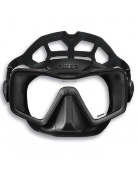 Μάσκα Κατάδυσης Omer Apnea Black Silicone