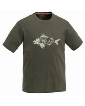 Μπλουζάκι T-Shirt Pinewood Fish Χακί