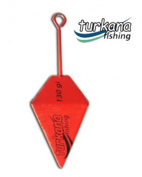 Tarkana Fishing-Μολύβι Χρωματιστό Πυραμίδα 130gr