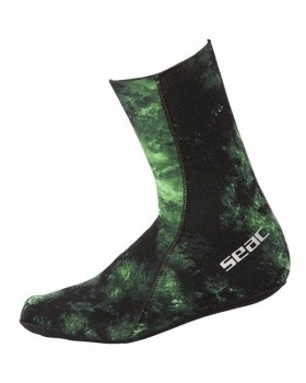 Seac Sub Καλτσάκια Anatomic Camo Green 3.5mm
