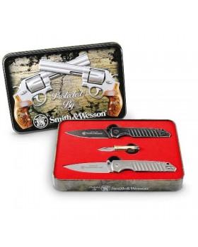 Σέτ Μαχαιριών Smith & Wesson Limited Edition 3PCS Tin