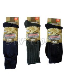 Κάλτσες Μάλλινες Ενισχυμένες Στρατιωτικές