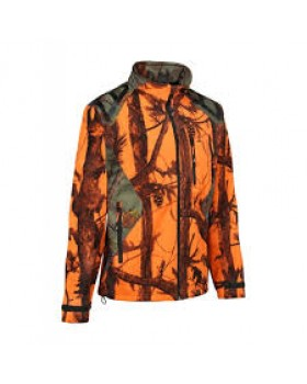 Jacket Percussion Softshell Ghost Camo Hunting 15122