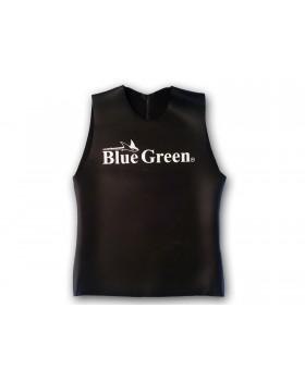 Blue Green-Γιλέκο 2mm Λειο Γιλέκο 2mm Λειο Ξυρισμένο