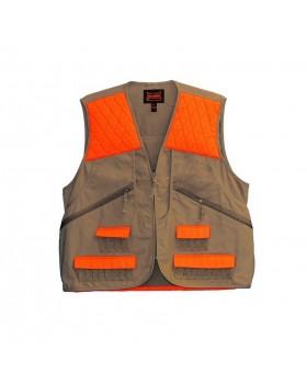 Γιλέκο Κυνηγίου Gamehide Vest 3AO Μπέζ/Πορτοκαλί